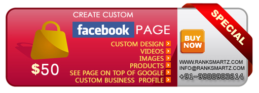 Custom Facebook Page